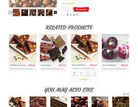 webmastersud tarafından Design creative website mock up for a snacks shop için no 48