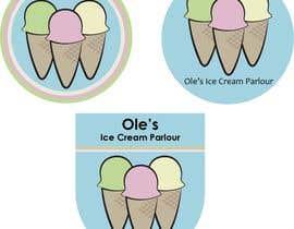 scubacat154 tarafından Ice cream Parlour Logo için no 85