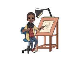 Nro 15 kilpailuun Cartoon Professional Kid Character - what I want to be käyttäjältä gonmuki