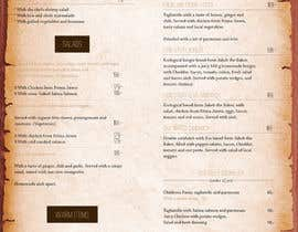 #34 for Create a background for a restaurant menu. by designcreativevw