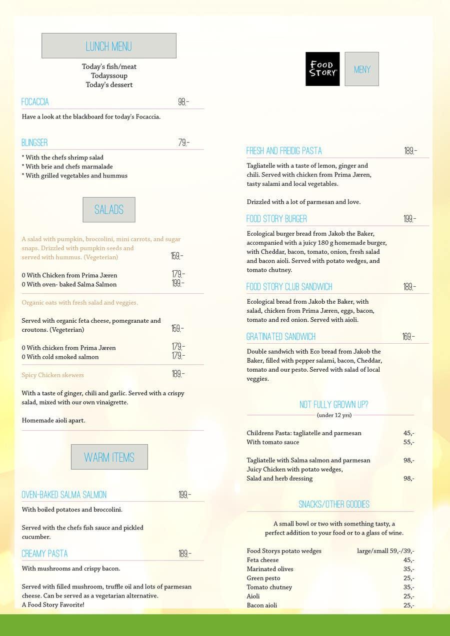 Bài tham dự cuộc thi #                                        28                                      cho                                         Create a background for a restaurant menu.