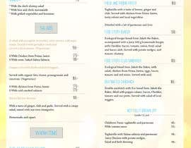 #28 for Create a background for a restaurant menu. by majajni