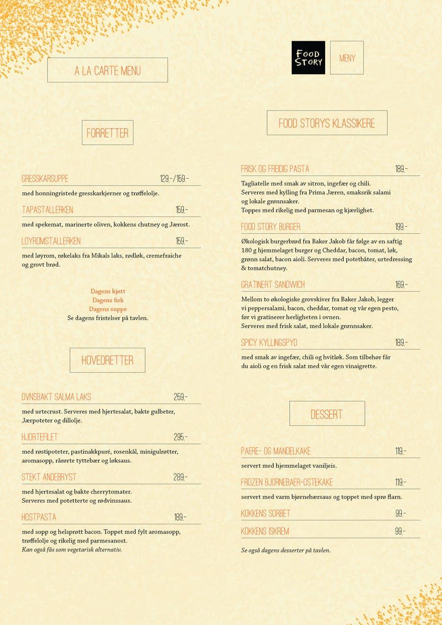 Bài tham dự cuộc thi #                                        13                                      cho                                         Create a background for a restaurant menu.