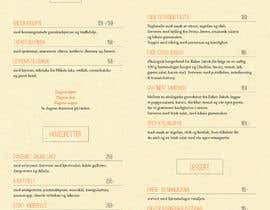 #13 for Create a background for a restaurant menu. by arthur142