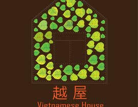 "nº 72 pour Design a Logo for Vietnamese restaurant named ""越屋 Vietnamese House"" par Ismailjoni"