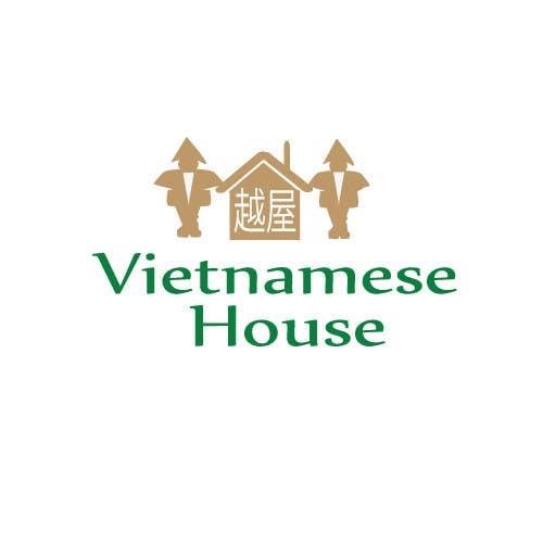 "Penyertaan Peraduan #                                        94                                      untuk                                         Design a Logo for Vietnamese restaurant named ""越屋 Vietnamese House"""
