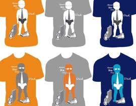#129 untuk T-shirt Design for Razors and Diapers oleh RFerreira