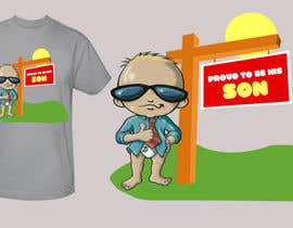 #178 untuk T-shirt Design for Razors and Diapers oleh xcerlow
