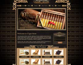 #11 for Need Design Mock Up for Cigar Shop af atularora