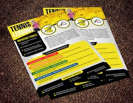 #9 para Design a Flyer for Tennis Coaching por hih7