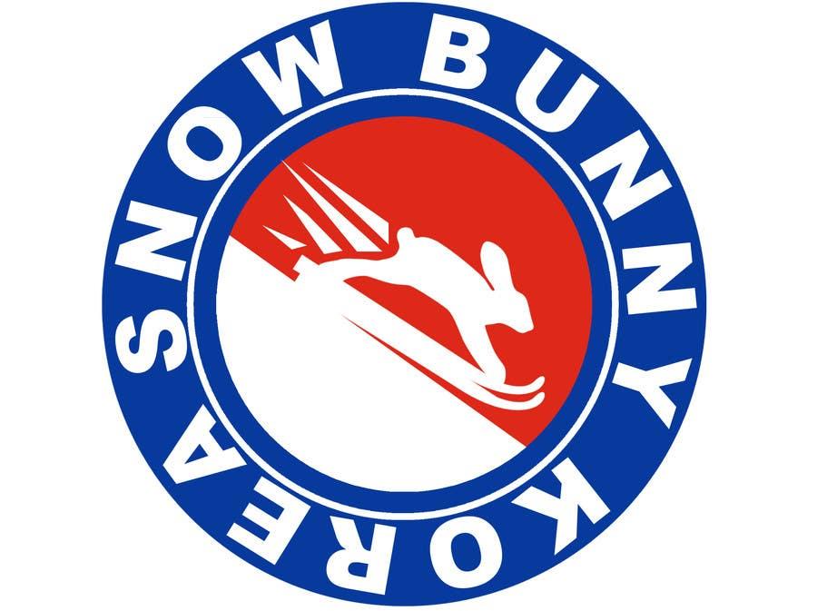 Penyertaan Peraduan #                                        2                                      untuk                                         Design a Logo for Snow Bunny Korea