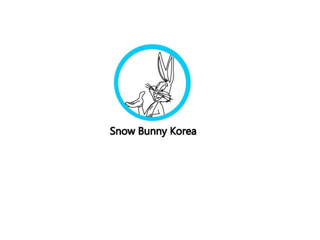 Penyertaan Peraduan #                                        1                                      untuk                                         Design a Logo for Snow Bunny Korea