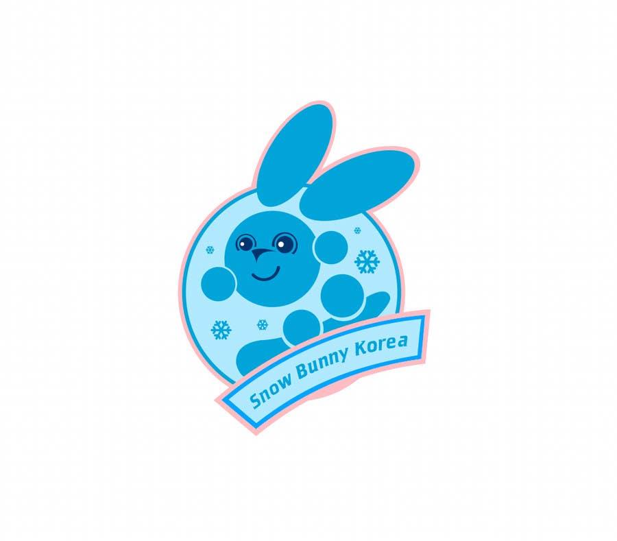 Penyertaan Peraduan #                                        30                                      untuk                                         Design a Logo for Snow Bunny Korea