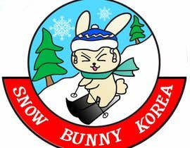#35 for Design a Logo for Snow Bunny Korea by hanifamirhamzah