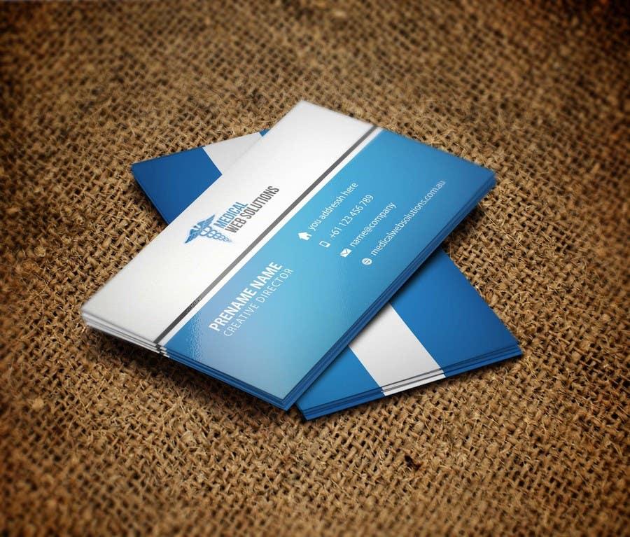 Penyertaan Peraduan #2 untuk Design some Business Cards for our Web Company