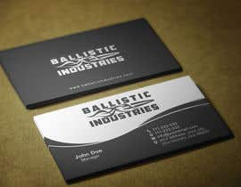 nº 44 pour Business Cards for a Firearms Business - Ballistic Industries par HammyHS