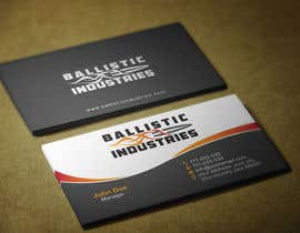 nº 45 pour Business Cards for a Firearms Business - Ballistic Industries par HammyHS