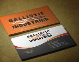 nº 59 pour Business Cards for a Firearms Business - Ballistic Industries par HammyHS