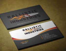 #60 for Business Cards for a Firearms Business - Ballistic Industries af HammyHS