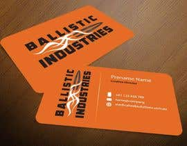 nº 57 pour Business Cards for a Firearms Business - Ballistic Industries par mamun313