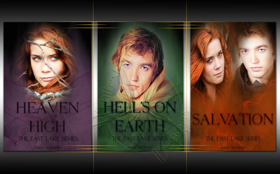 #59 for Re-design 3 eBook Covers by Wackymummy