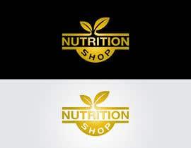 EzzDesigner tarafından Design a Logo for Nutrition Shop için no 109
