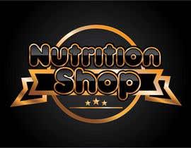 Nro 68 kilpailuun Design a Logo for Nutrition Shop käyttäjältä dannnnny85