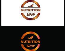 Nro 16 kilpailuun Design a Logo for Nutrition Shop käyttäjältä primitive13
