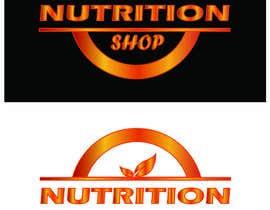 Nro 42 kilpailuun Design a Logo for Nutrition Shop käyttäjältä primitive13