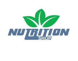 Nro 48 kilpailuun Design a Logo for Nutrition Shop käyttäjältä drawbacktrane