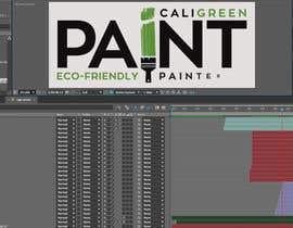 Nro 29 kilpailuun 10 Second Animated Logo for Cali Green Paint käyttäjältä housnichraka