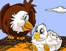 #29 para Illustrating 3 pictures of an eagle baby por v9s2