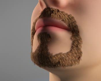 #40 for Create realistic 3D beard for interactive viewing by Bacvu