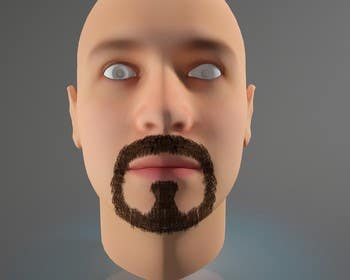 #42 for Create realistic 3D beard for interactive viewing by Bacvu