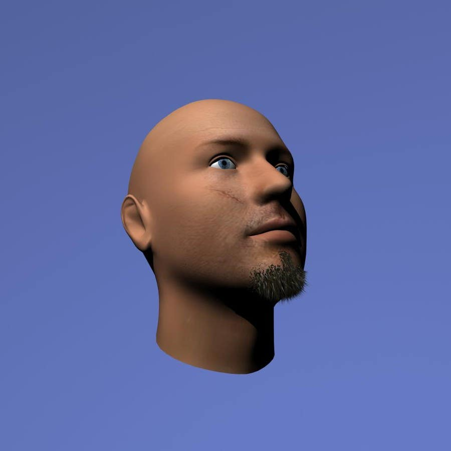 #21 for Create realistic 3D beard for interactive viewing by handras88