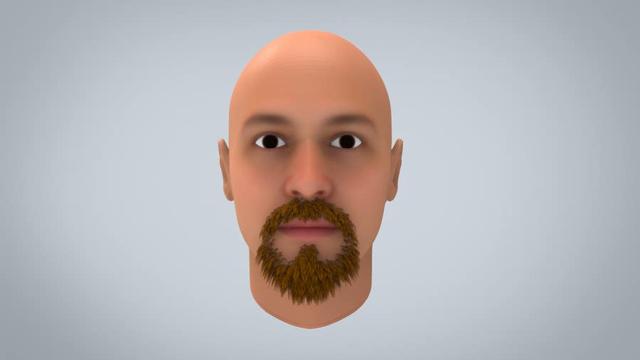 #39 for Create realistic 3D beard for interactive viewing by DedaDjoka