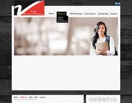 nº 11 pour Home Page Design par ansuthar