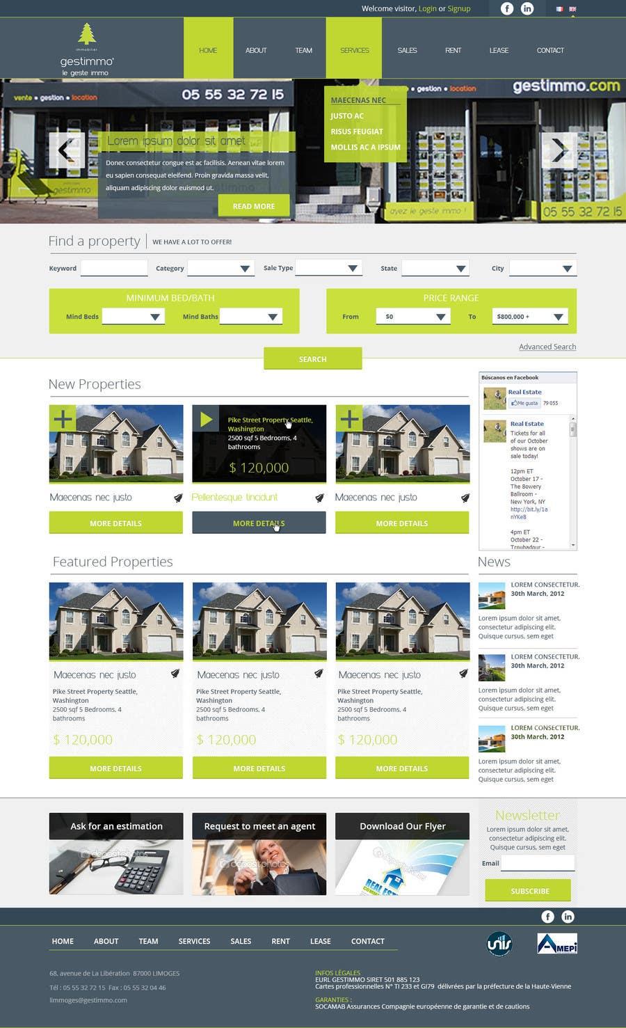 #22 for Joomla website for House or Property selling by saketmishra01