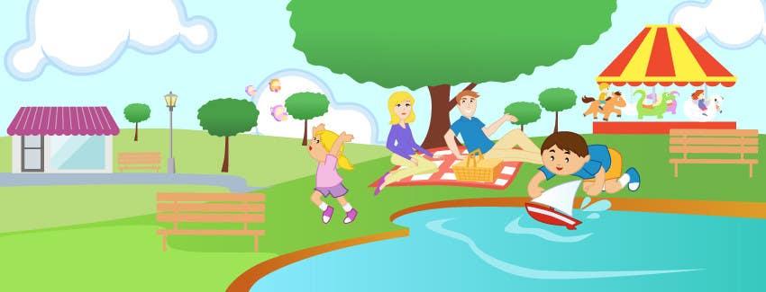 Inscrição nº                                         12                                      do Concurso para                                         Illustration Design for Bambino Brands Facebook Timeline