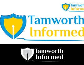 #22 untuk tweak / finish/ improve a Logo for Tamworth Informed - news blog oleh umamaheswararao3