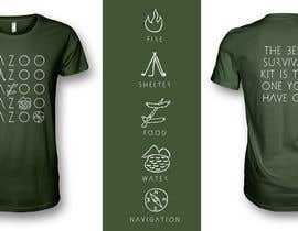 SeanKilian tarafından Outdoors Lifestyle Graphic Tee Shirt | Simple, Modern Design için no 30