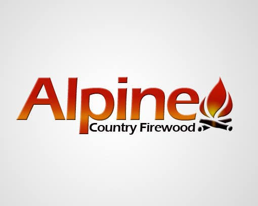 Entri Kontes #157 untukLogo Design for Alpine Country Firewood