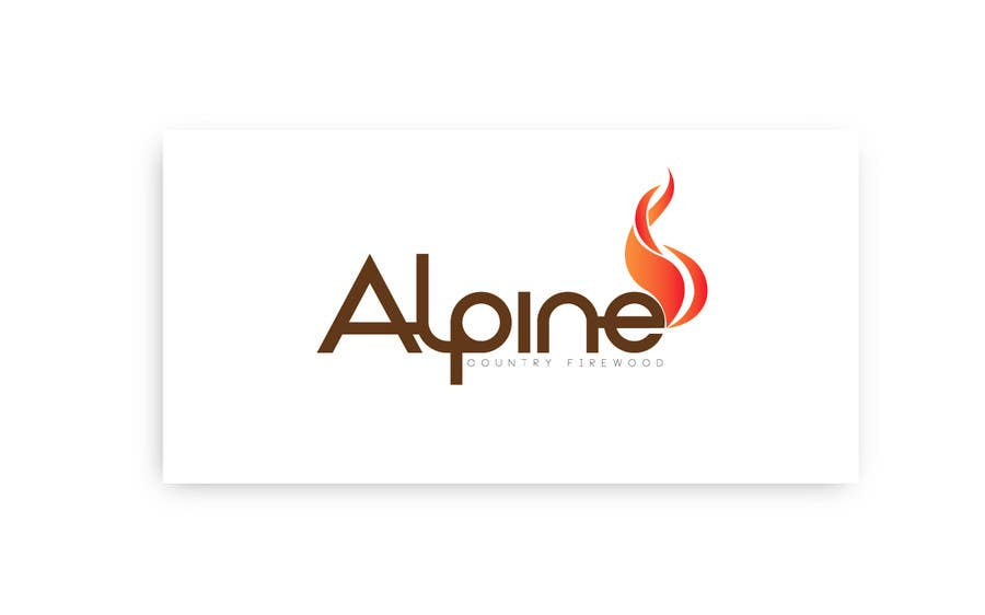 Entri Kontes #171 untukLogo Design for Alpine Country Firewood
