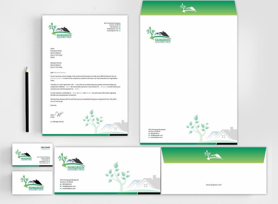 Bài tham dự cuộc thi #4 cho Design some Business Cards & Stationary for a property development company