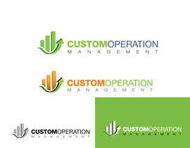 nº 117 pour Design a Logo for a Software Service - 'Custom Operations Management / CustomOps' par zaldslim