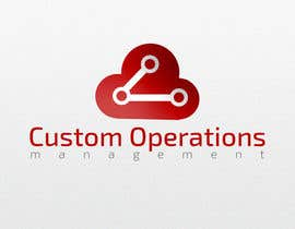 eleopardstudios tarafından Design a Logo for a Software Service - 'Custom Operations Management / CustomOps' için no 34