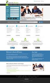 kreativeminds tarafından Mock Up Website - Business For Sale için no 8