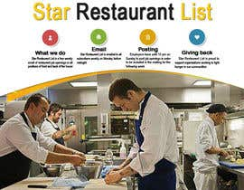 #10 for Design a Facebook landing page for Star Restaurant List Facebook page by atomixvw