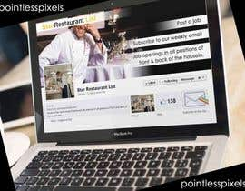 nº 15 pour Design a Facebook landing page for Star Restaurant List Facebook page par pointlesspixels