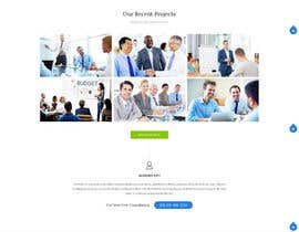 ahmedhikal tarafından Design a Wordpress template for a new job executive search company -- 2 için no 3